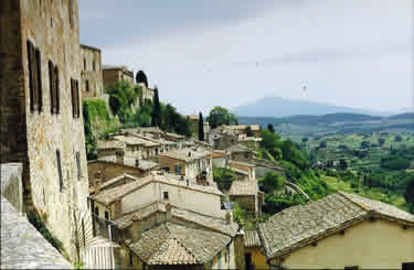 View from the walls of Montepulciano