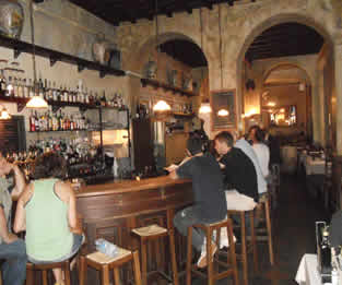 Antica Enoteca wine bar in Rome