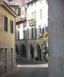 Street in central Asolo