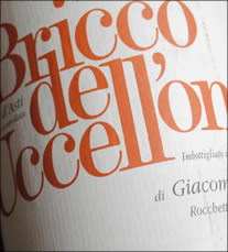 2009 Bricco dell'Uccellone Barbera d'Asti from the Braida winery