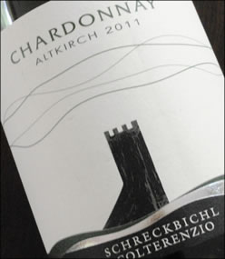 2011 Altkirch Chardonnay from Colterenzio
