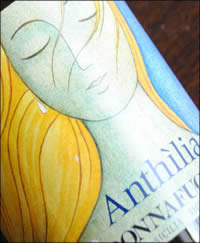 2011 Anthilia , a Sicilian white wine from Donnafugata