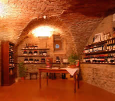 Enoteca Regionale di Acqui Terme is located in the cellars of the 16th century Palazzo Robellini in Acqui Terme