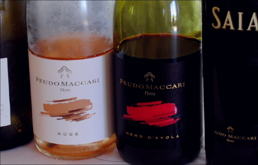 The wines of Feudo Maccari