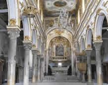 Interior of Matera Cathedral