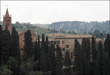 The Abbey of Monte Oliveto Maggiore