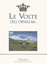 "2018 ""Le Volte"" Toscano Rosso from the Ornellaia winery"