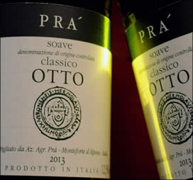 "2013 ""Otto"" Soave Classico from the Pra winery"