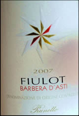 "Prunotto, ""Fiulot"" Barbera d'Asti 2007"