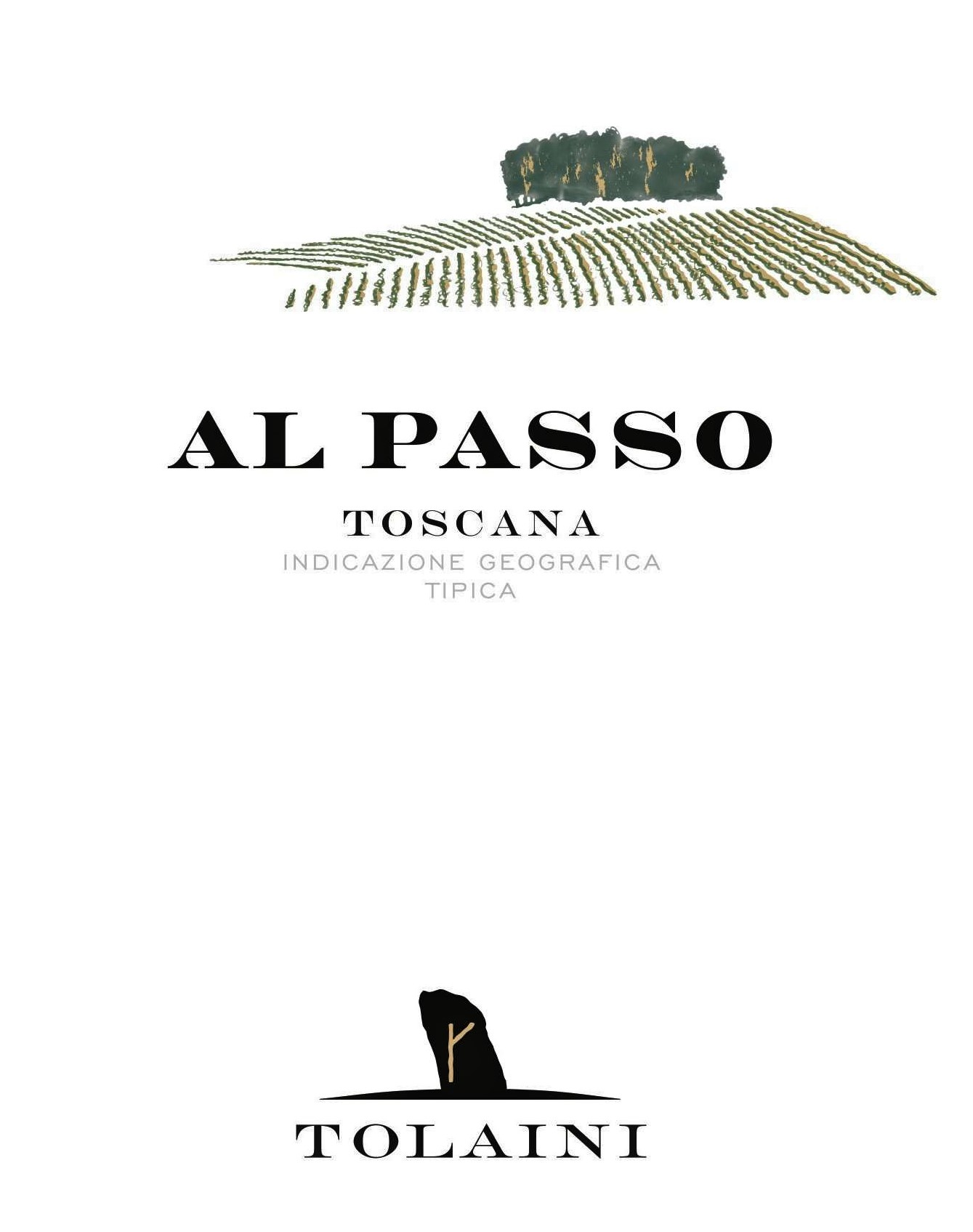 "2016 ""Al Passo"" Toscano IGT wine from the Tolaini winery"