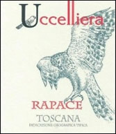 Uccelliera Rapace IGT 2009 label