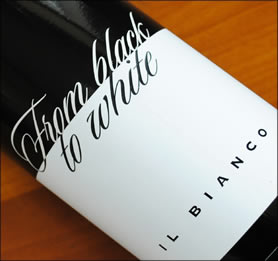 "2013 ""From Black to White"" Il Bianco from the Zyme winery"